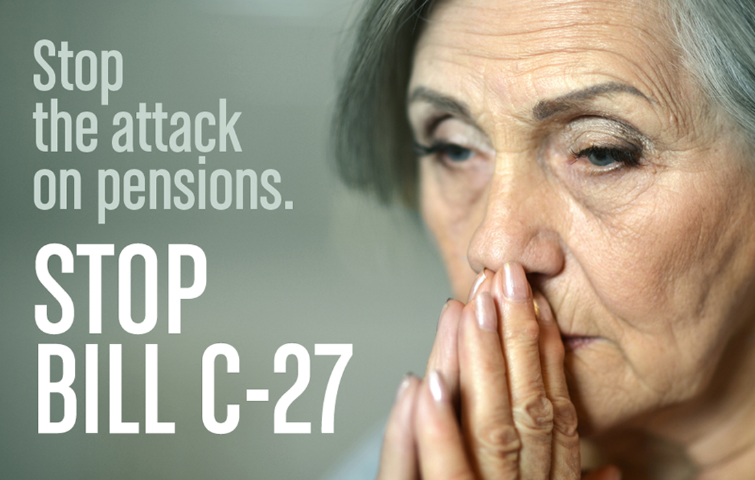 Trudeau government attacking pensions