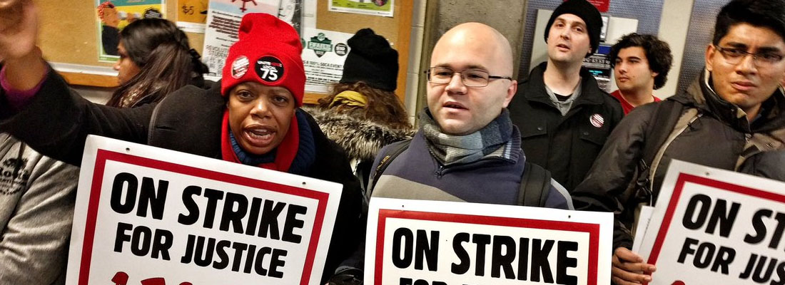 Aramark gets served: York food workers strike back