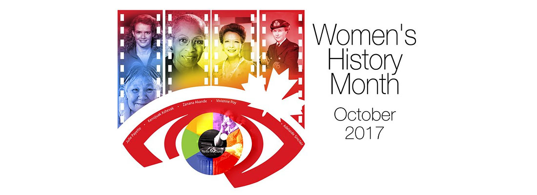 Women's History Month – October 2017