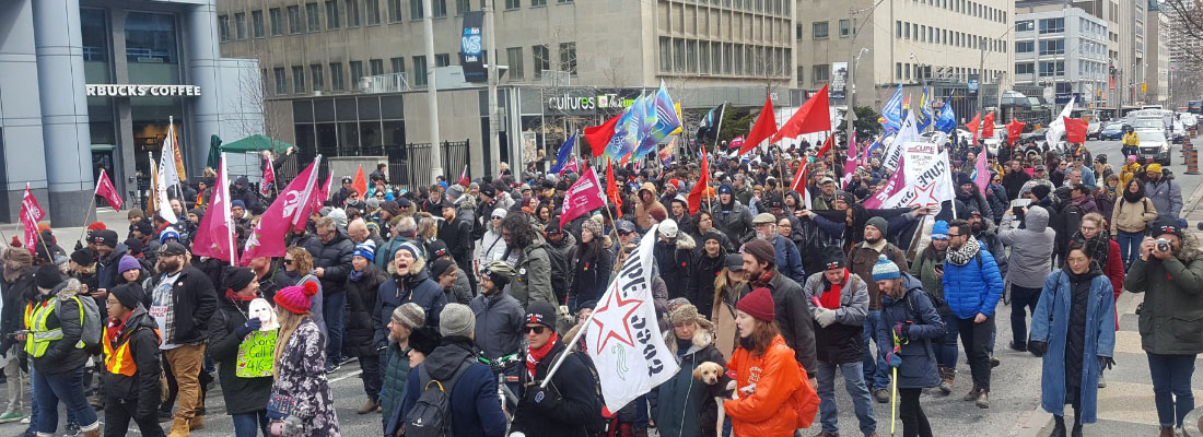 """Liberals and Tories team up in attempt to violate rights of striking York University Instructors showing their """"true colours"""""""