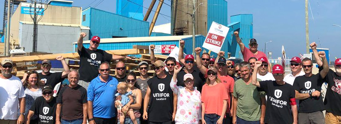 Compass Minerals and Unifor reach tentative deal in Goderich salt mine strike