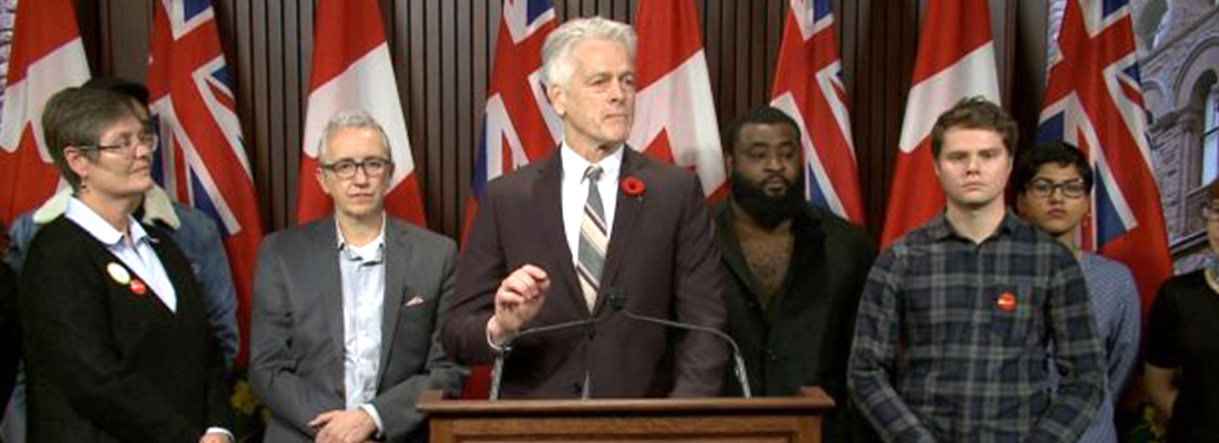 NDP warns Ontario labour reforms will hurt post-secondary students and teachers alike