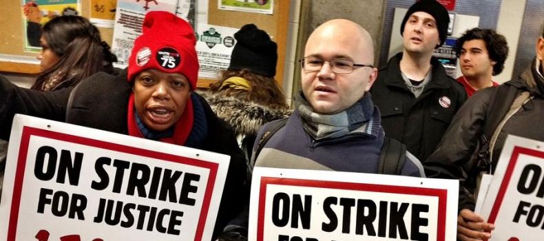 Aramark gets served: York food workers strike back