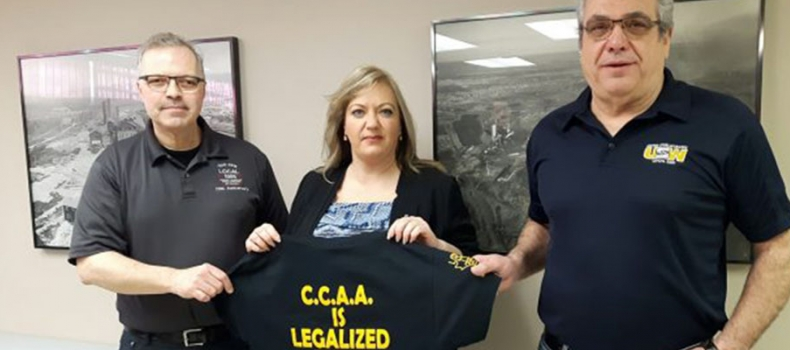 Steelworkers ready for battle