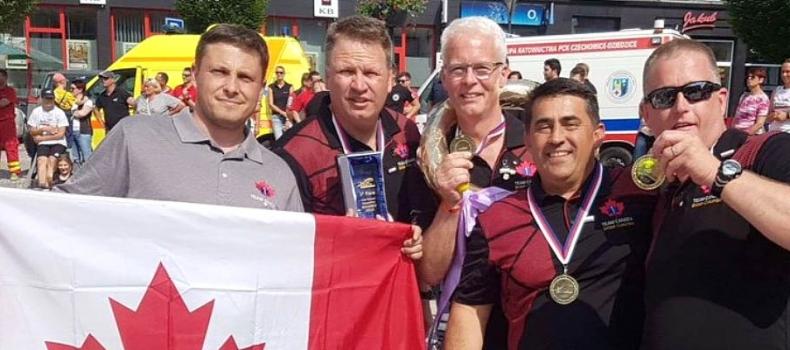 B.C. paramedics win gold at international competition