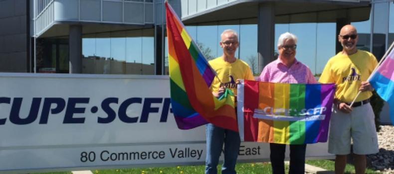 CUPE Ontario donates to Kincardine Pride