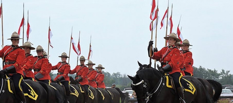 Canadian Mounties to the rescue of American workers