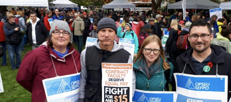 Letter to the Editor: Why we strike