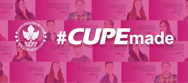 #CUPEmade <span class='bluebg'>SUCCESS</span>